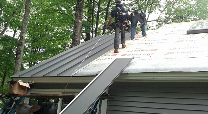 How To Prepare For A Metal Roof Installation
