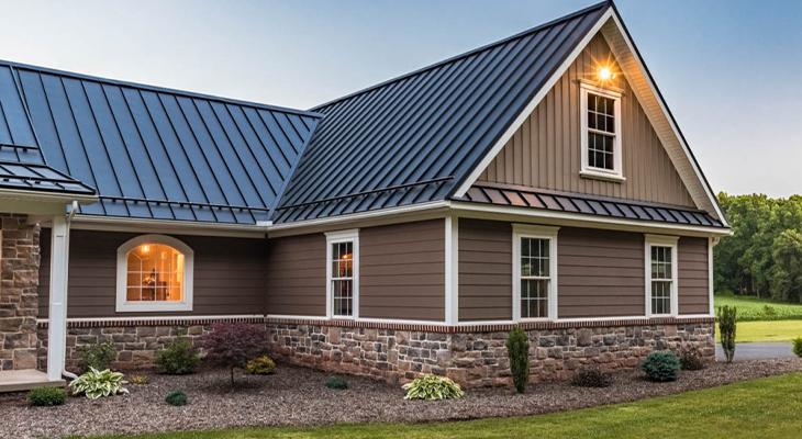What Are The Types Of Metal Roofs You Can Choose From?